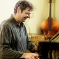 François Bourassa at piano